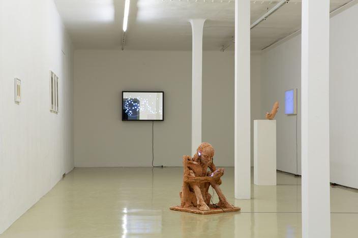 Exhibition view: Rosmarie Lukasser, MATERIAL TRANSLATION, Krinzinger Projekte, Vienna (28 November 2019–8 February 2020). Courtesy Galerie Krinzinger.