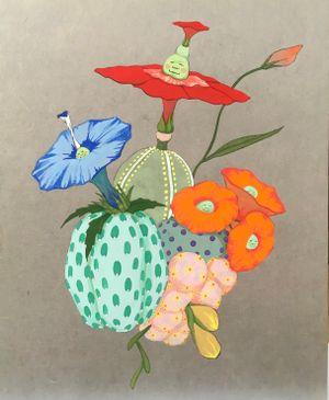 Origin of desire - Birth of the delight - by Mari Ito contemporary artwork