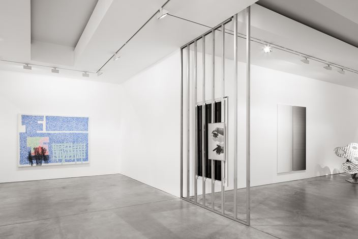 Exhibition view:Group Exhibition,The Matter in Harmony,Galerie Thomas Schulte, Berlin (14 July–15 September 2018). Courtesy the artists and Galerie Thomas Schulte, Berlin. Photo: ©hiepler, brunier,