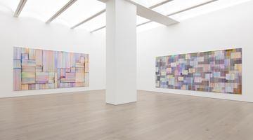 Contemporary art exhibition, Bernard Frize, Journey in Autumn at Perrotin, Paris