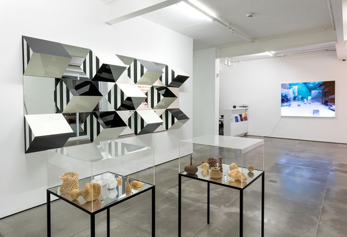 Exhibition view: Group Exhibition, Reflections on Time and Space, Galeria Nara Roesler,  Rio de Janeiro (16 September–2 November 2019). Courtesy the artist and Galeria Nara Roesler.Photo: © Pat Kilgore.