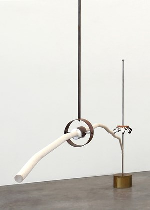 Balancing limb with quiver, standing by Andrew Drummond contemporary artwork
