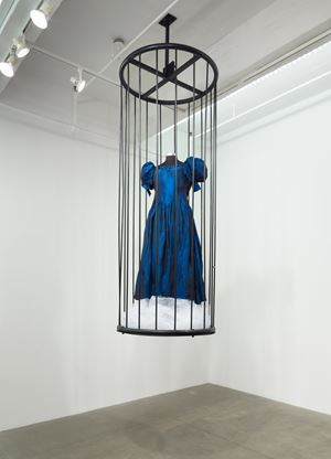Patina du Prey's Drag Pose Cage (Simon Watson Gallery) by Hunter Reynolds contemporary artwork