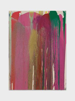 Oloroso by John M Armleder contemporary artwork