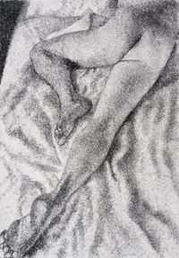 Figure Study II by Frances Goodman contemporary artwork works on paper
