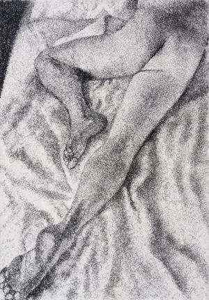 Figure Study II by Frances Goodman contemporary artwork
