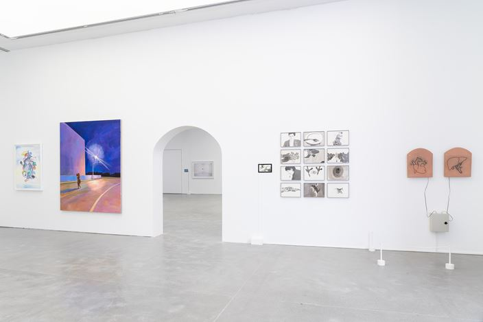 Exhibition view: Group Exhibition,Cache: From B to Z,ShanghART, Shanghai (12 April–30 August 2020). CourtesyShanghART.