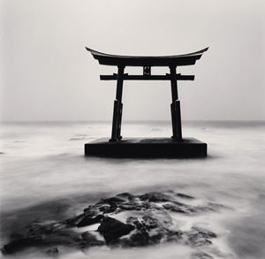 Torii-Gate Study 2 by Michael Kenna contemporary artwork
