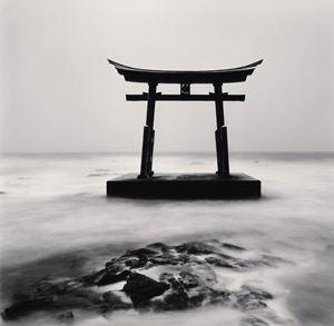 Torii-Gate Study 2 by Michael Kenna contemporary artwork