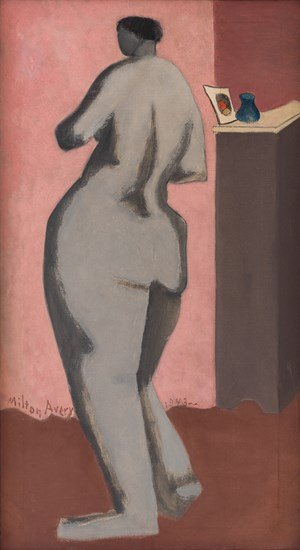 Grey Nude by Milton Avery contemporary artwork