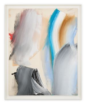 Vertical Movement by Ed Clark contemporary artwork
