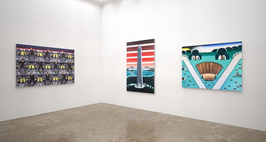 Installation rendering: Kavi Gupta,Art Basel OVR:20c (28–31 October 2020). Courtesy Kavi Gupta.