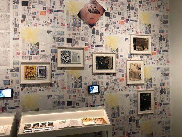 Exhibition view: LUMA Arles, 2021 opening exhibitions with the Parkett Archive. Courtesy Parkett.