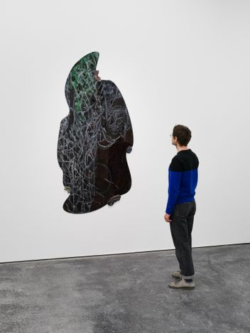 Exhibition view: Navid Nuur,When meanings get marbled, Galeria Plan B, Berlin (30 April–20 June 2021). Courtesy Galeria Plan B.