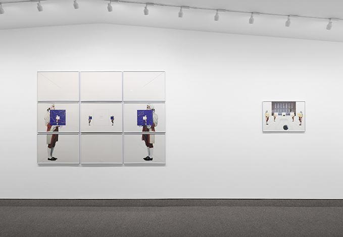 Exhibition view: Giulio Paolini,1986–2010, Krakow Witkin Gallery, Boston (21 September–2 November 2019). Courtesy Krakow Witkin Gallery.
