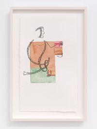 Ixiptla II by Mariana Castillo Deball contemporary artwork painting, works on paper