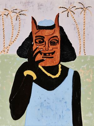 Zambeziana remembers Tchaubo tongue by Cassi Namoda contemporary artwork