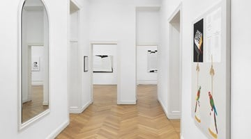 Contemporary art exhibition, Frances Stark, lonely and abandoned on the market place at Galerie Buchholz, Berlin, Germany