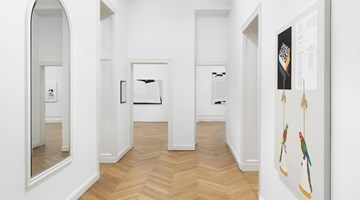 Contemporary art exhibition, Frances Stark, lonely and abandoned on the market place at Galerie Buchholz, Berlin
