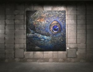 One who never sings by Shiori Horie contemporary artwork