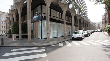 Xavier Hufkens contemporary art gallery in 107 rue St-Georges, Brussels, Belgium