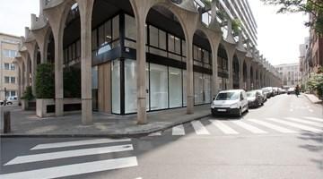 Xavier Hufkens contemporary art gallery in Rivoli, Brussels, Belgium