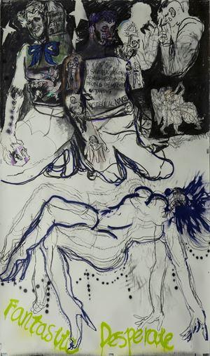 Peep Show No.6 西洋镜 6 by Zhu Xiangmin contemporary artwork