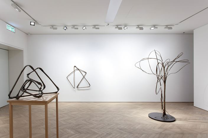 Exhibition view: Xiao Yu,BB,Pace Gallery, Entertainment Building, Hong Kong (26 March–11 May 2019). Courtesy the artist and Pace Gallery.
