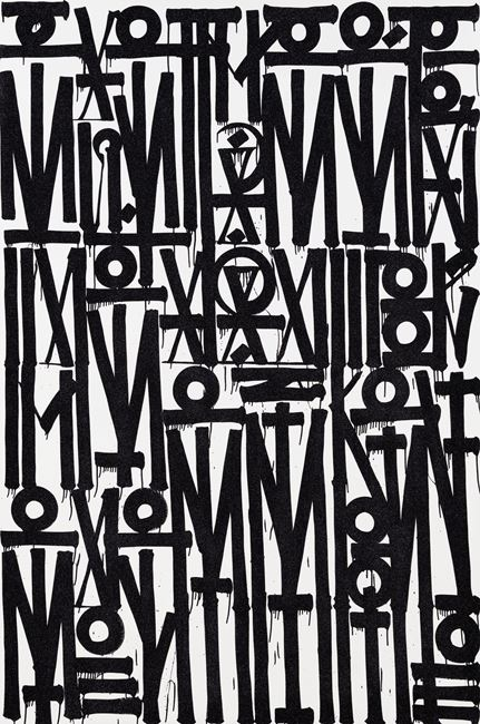 Even the Heart Skips a Beat by Retna contemporary artwork