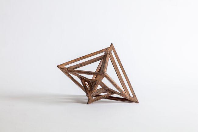 Perimeter Studies (Octahedron structural) by Conrad Shawcross contemporary artwork