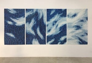 A tremor, a touch, a ripple (han, sum, man, keum) by Timothy Hyunsoo Lee contemporary artwork