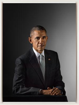 Barack Obama by Katy Grannan contemporary artwork