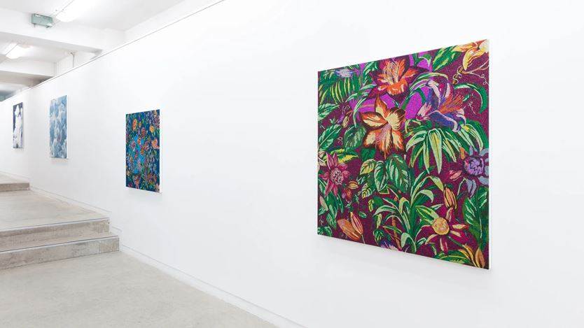 Exhibition view: Reuben Paterson, You Know Who, Page Galleries, Wellington (17 September–10 October 2020). Courtesy Page Galleries.