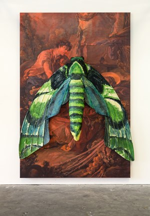 Hawkmoth by Monster Chetwynd contemporary artwork