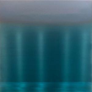 Blue Green Shift 2.20.3.3.1 by Miya Ando contemporary artwork