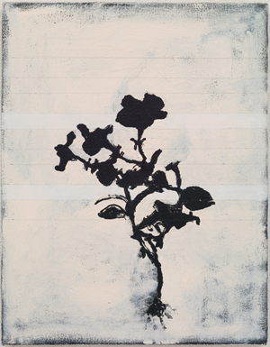 2 White Stripes by Kunié Sugiura contemporary artwork
