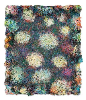 DeepDrippings (Midnight Austin Laze Version) by Phillip Allen contemporary artwork