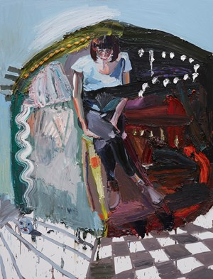 The Breakup by Ben Quilty contemporary artwork