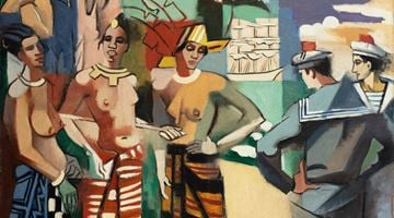 Contemporary art exhibition, Lovers at Bailly Gallery, Online Only, Paris