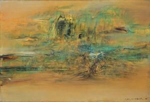 18.2.1963 by Zao Wou-Ki contemporary artwork