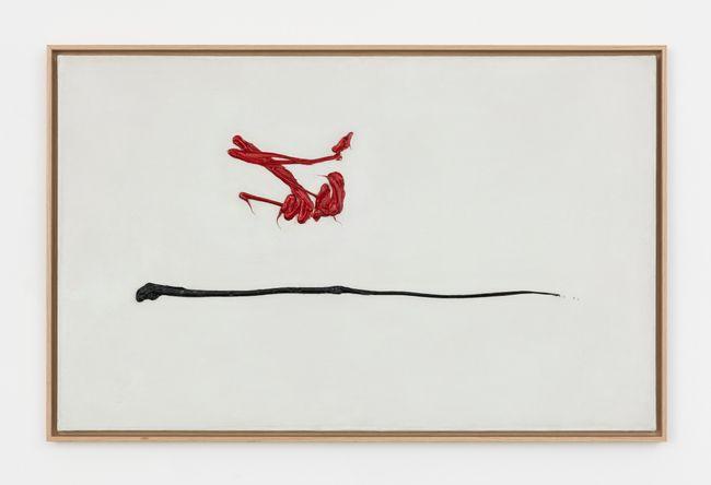 Entre le chic et la bohême by Georges Mathieu contemporary artwork
