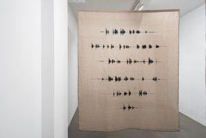 Esta es la edad de hierro en la garganta by Julia Llerena contemporary artwork