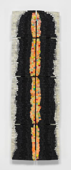 Totem 2000 VIII: For Janet Carter (A Truly Sweet Lady) by Jack Whitten contemporary artwork