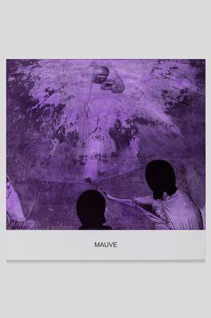 The Purple Series: Mauve by John Baldessari contemporary artwork print, mixed media