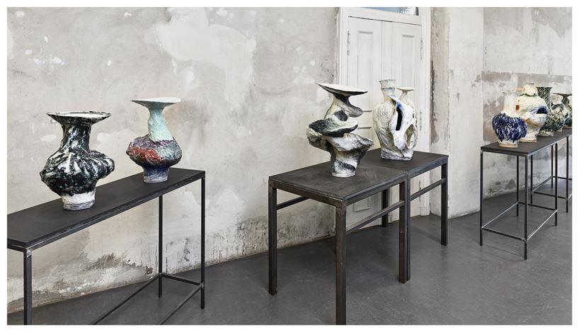 Exhibition view: Johannes Nagel, No Fake, Brutto Gusto, Berlin (12 June–6 September 2020).Courtesy Brutto Gusto.