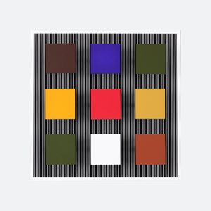 Multiple S (24/100) by Jesús Rafael Soto contemporary artwork