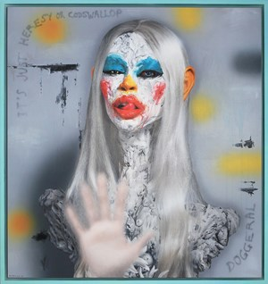 Codswallop & Doggerel by Ashley Bickerton contemporary artwork
