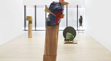 Contemporary art exhibition, Arlene Shechet, Skirts at Pace Gallery, New York
