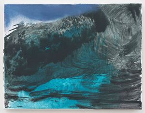 Seascape by Marlene Dumas contemporary artwork painting, works on paper