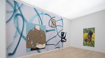 Contemporary art exhibition, Sarah Crowner, Caitlin Keogh, Paulina Olowska, Mauvaises Herbes at Simon Lee Gallery, Hong Kong